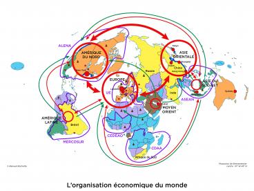 Pôles et flux de la mondialisation