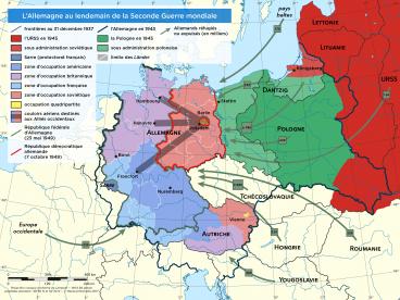 Allemagne de 1945 à 1949