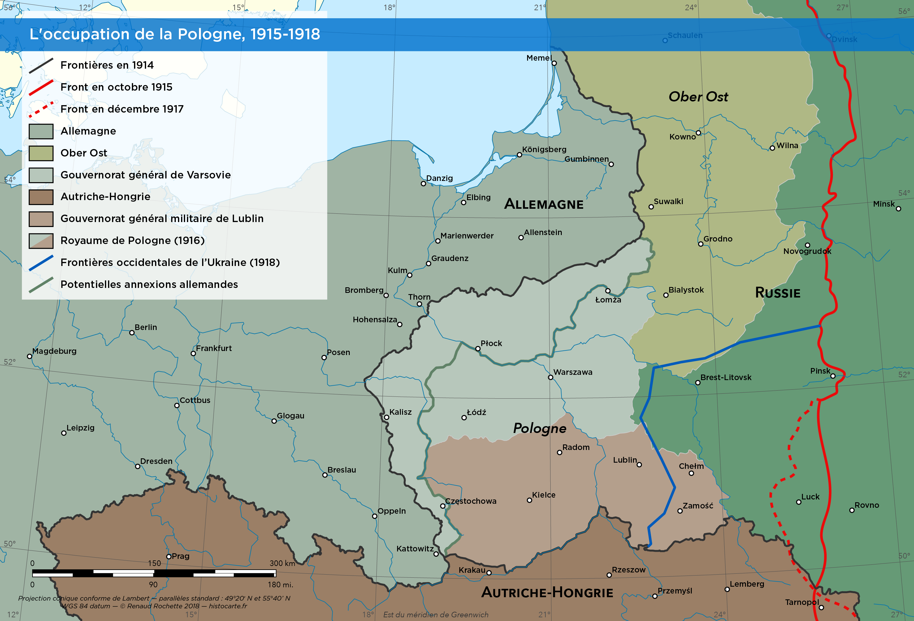 La Pologne pendant la Première Guerre mondiale