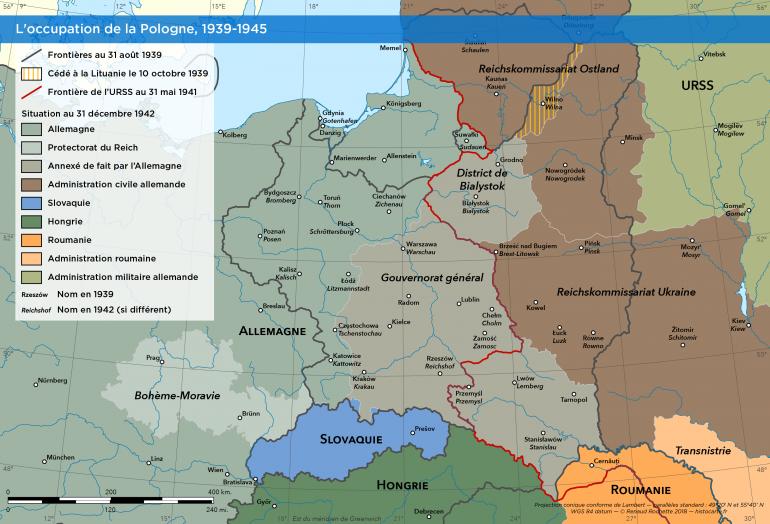 La Pologne pendant la Seconde Guerre mondiale