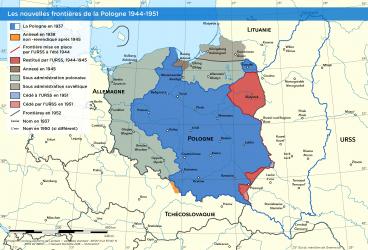 La Pologne aux lendemains de la Seconde Guerre mondiale