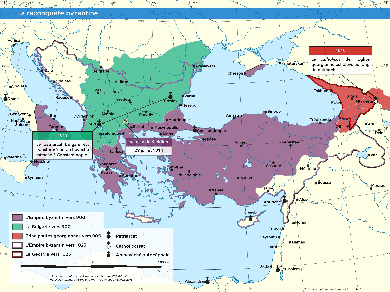 La reconquête byzantine