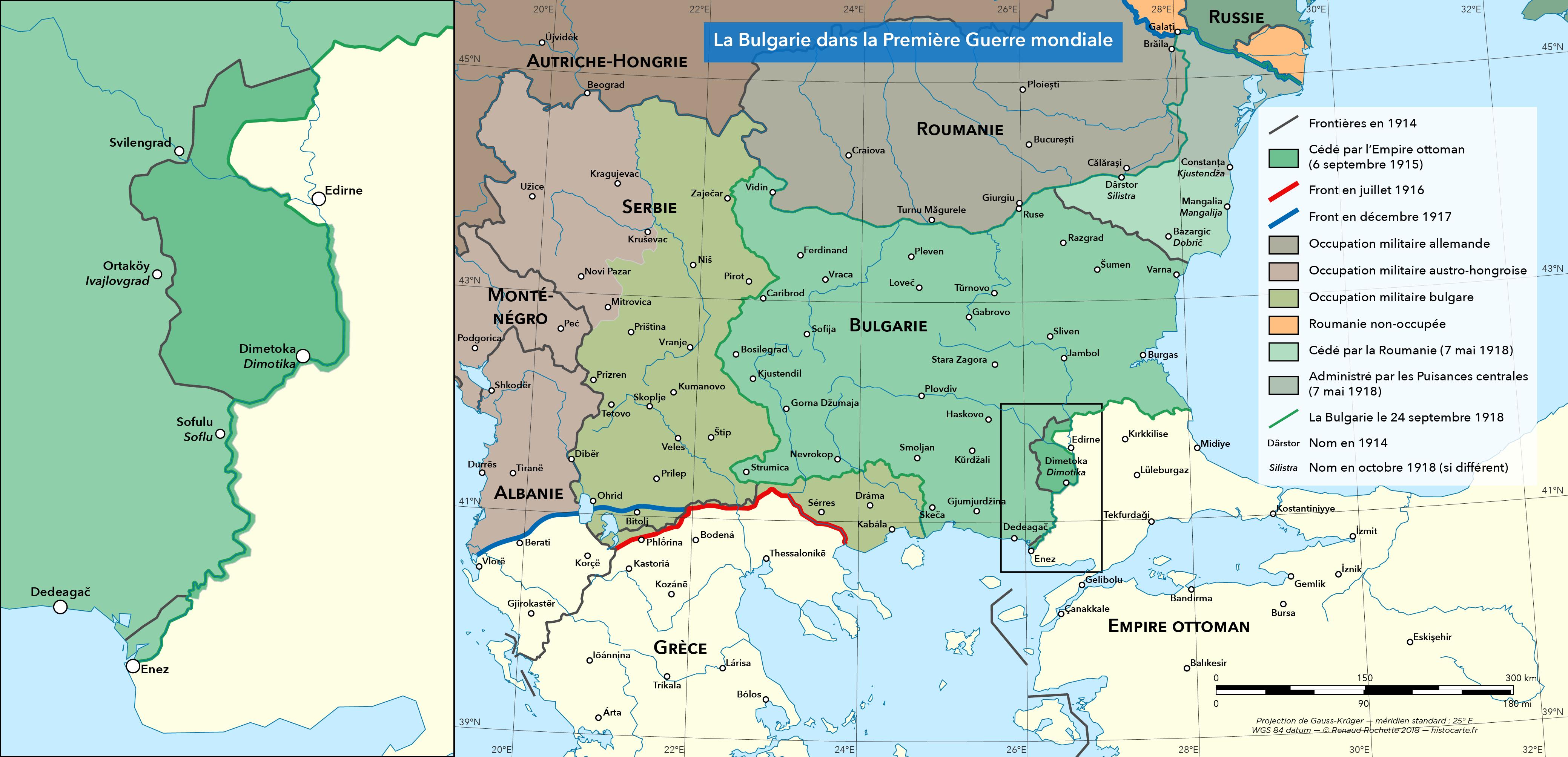 La Bulgarie pendant la Première Guerre mondiale