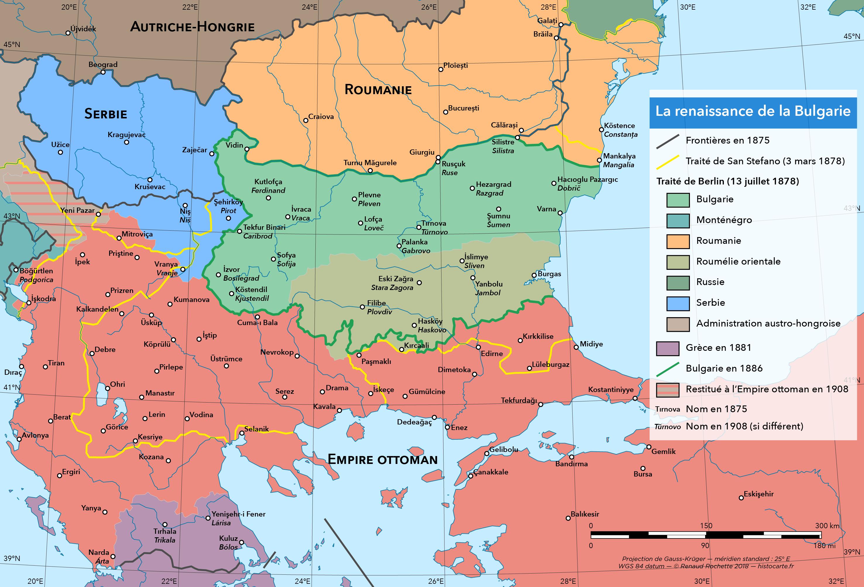 Bulgarie 1878-1908