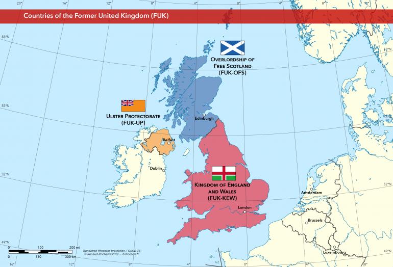 post-Brexit United Kingdom