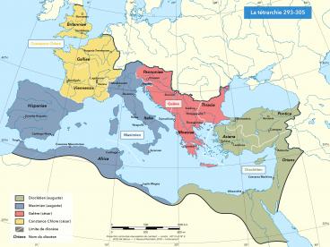 Le système tétrarchique 293-305