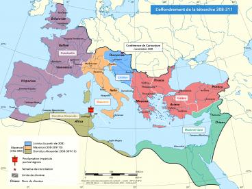 La Tétrarchie 308-311