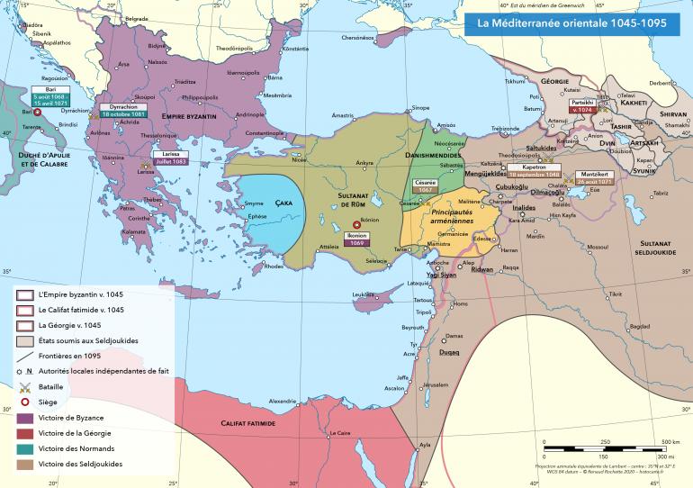 Les conquêtes seldjoukides