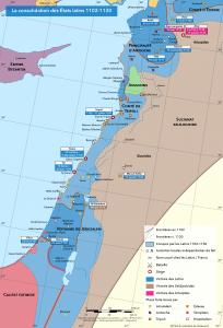 Les États latins 1102-1130