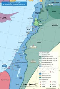 La Syrie-Palestine pendant la deuxième croisade