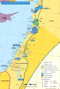 La conquête de la Syrie-Palestine par Saladin